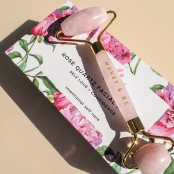 Honey&Be Rose Quartz Facial Roller