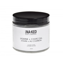 Buck Naked Jasmine + Charcoal Sugar Scrub 473ml