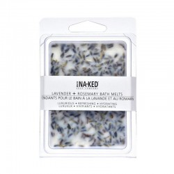 Buck Naked Lavender + Rosemary Bath Melts