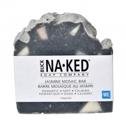 Buck Naked Jasmine Mosaic Soap 140g