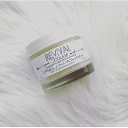 Revival Body Care GODDESS Unveil Aha Facial Polish 2.3 oz
