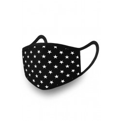 Reusable Washable 2 Layer Mask (10pcs) STARS ALL OVER