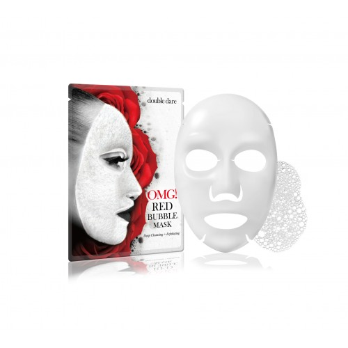 double dare OMG! RED BUBBLE MASK