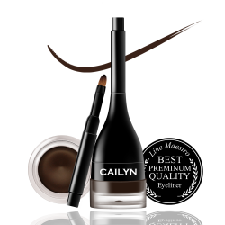 Cailyn LINE FIX GEL EYELINER  02Chocolate Mousse