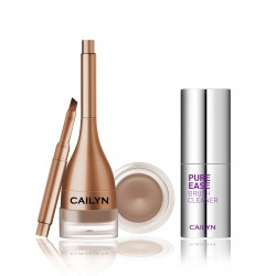 Cailyn GELUX EYEBROW + PURE EASE BRUSH CLEANER 02Hazelnut