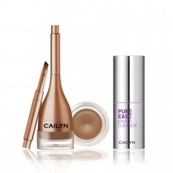 Cailyn GELUX EYEBROW + PURE EASE BRUSH CLEANER 03Nutmeg