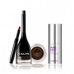 Cailyn Line Fix Gel Eyeliner  + Pure Ease Brush Cleaner Chocolate Mousse