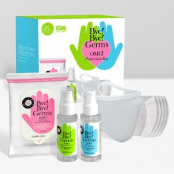 Bye! Bye! Germs OMG! Protection Kit with White Mask