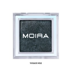 Moira Lucent Cream Shadow (18 Colors) 018 Black Hole