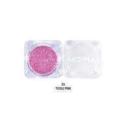 Moira Loose Control Glitter (24 Colors) 003 Tickle Pink