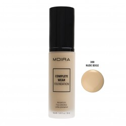 Moira Complete Wear Foundation (13 Colors) 300 Nude Beige