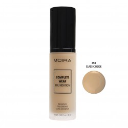 Moira Complete Wear Foundation (12 Colors) 350 Classic Beige