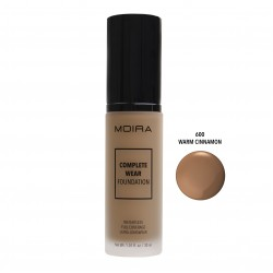 Moira Complete Wear Foundation (12 Colors) 600 Warm Cinnamon