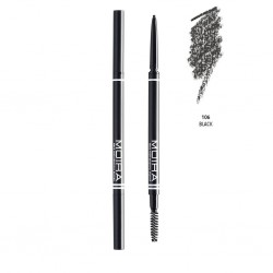 Moira Fine Brow Pencil (6 Colors) 106 Black