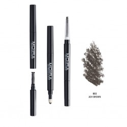 Moira 3 in 1 Perfect Brow ( 4 Colors) 003 Ash Brown
