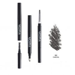 Moira 3 in 1 Perfect Brow ( 4 Colors) 004 Charcoal