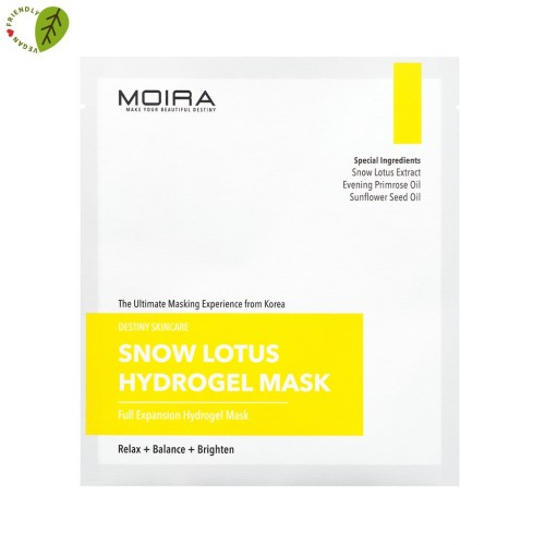 Moira Snow Lotus Hydrogel Mask