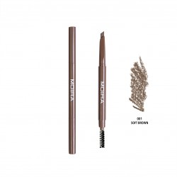 Moira Dual Brow Pencil (4 Colors) 001 Soft Brown