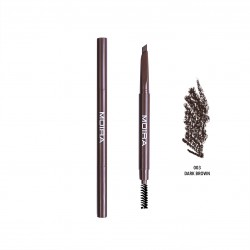 Moira Dual Brow Pencil (4 Colors) 003 Dark Brown