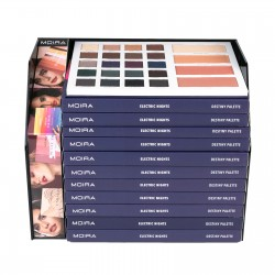 Moira Electric Nights Destiny Eye & Face Palette Module Set (12pcs)