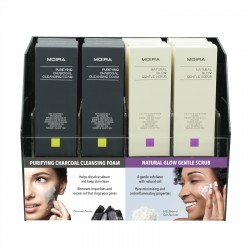Moira Charcoal Foam & Gentle Scrub Module Set