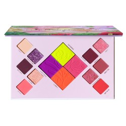 Flirting Flamingo Pressed Pigment Palette