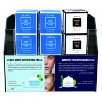 Atomic Water Moisturizing Cream & Overnight Treatment facial Cream Module Set