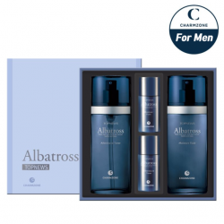Charmzone Albatross 2 Kind Set (For Men) - Aftershave Toner, Moisture Fluid