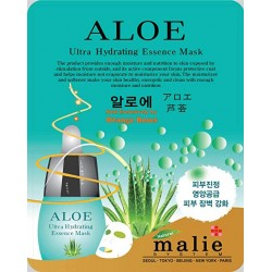 Malie Ultra Hydrating Essence Facial Mask Sheets 16 Type - Pack of 10 Aloe