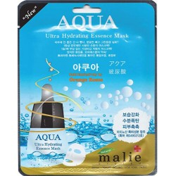 Malie Ultra Hydrating Essence Facial Mask Sheets 16 Type - Pack of 10 Aqua
