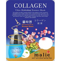 Malie Ultra Hydrating Essence Facial Mask Sheets 16 Type - Pack of 10 Collagen