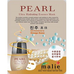 Malie Ultra Hydrating Essence Facial Mask Sheets 16 Type - Pack of 10 Pearl