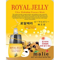 Malie Ultra Hydrating Essence Facial Mask Sheets 16 Type - Pack of 10 Royal Jelly
