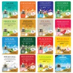 Malie Ultra Hydrating Essence Facial Mask Sheets 16 Type - Pack of 10 Cucumber