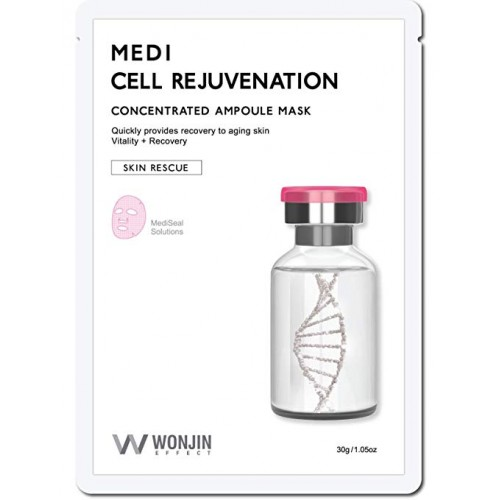 WONJIN EFFECT Medi Cell Rejuvenation Mask Pack of 10