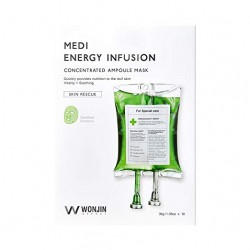 WONJIN EFFECT Medi Energy Infusion Mask Pack of 10