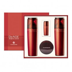 DeAGE Red-Addition 3 Kind Set: Toner, Emulsion, Cream, Essence