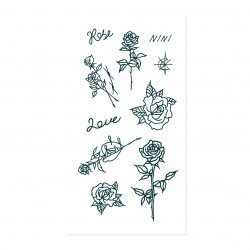 Tattist Temporary Tattoo Pro NINI  Rose