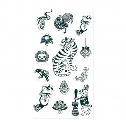 Tattist Temporary Tattoo Pro HANASTUDIO  Oriental