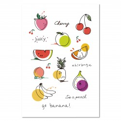 Tattist Temporary Tattoo Basic TAKEMYMUSE  Fruit