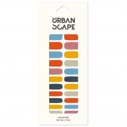 URBANSCAPE Premium Gel Nail Sticker - Color Line (Palette) 52 My Palette