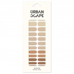 URBANSCAPE Premium Gel Nail Sticker - Color Line (Palette) 55 Skintone