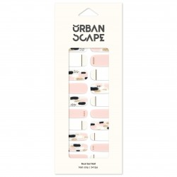 URBANSCAPE Premium Gel Nail Sticker - Real Gel Nail Strip 61 Uyuni Canvas