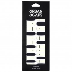 URBANSCAPE Premium Gel Nail Sticker - Real Gel Nail Strip 71 Minimal