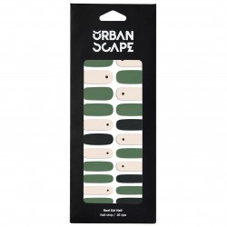 URBANSCAPE Premium Gel Nail Sticker - Real Gel Nail Strip 70 Bamboo