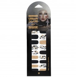 URBANSCAPE Premium Gel Nail Sticker - Shade Seoul Limited Edition (3 Design) 03 A Diva is Born