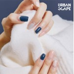 URBANSCAPE Premium Gel Nail Sticker - Real Gel Nail Strip 63 Mute Shape