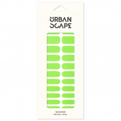 URBANSCAPE Premium Gel Nail Sticker - Color Line (Full) 35 Neon Green 7488c