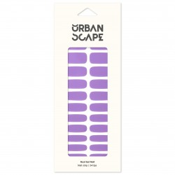 URBANSCAPE Premium Gel Nail Sticker - Color Line (Full) 37 Lavender 2577c
