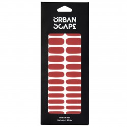 URBANSCAPE Premium Gel Nail Sticker - Color Line (Full) 42 Marsala 696c